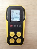 CO, H2S, O2, CH4 Portable Multi 4 Gas Analyzer