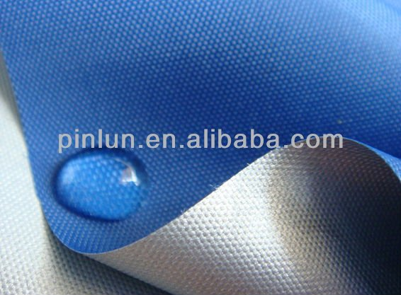 100% polyester 600D PU/PVC coated oxford fabric with waterproof