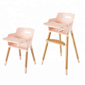 Wholesale Multi-function Wooden Baby High Chair For Baby Feeding
