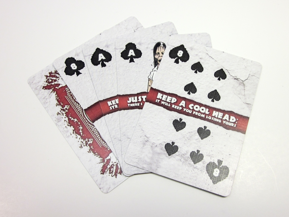 Custom logo sexy playing cards with good serve