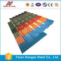 Hot sale factory price prepainted corrugated galvanized steel roofing sheet