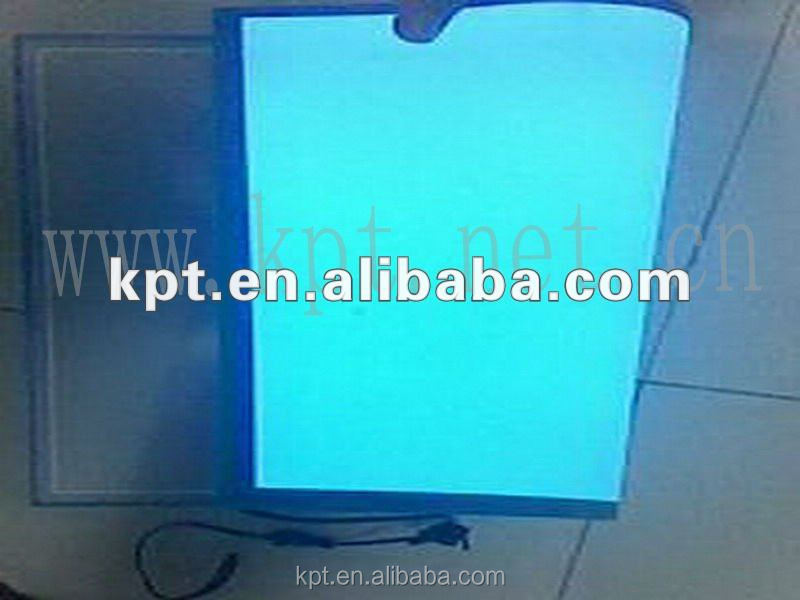 lighting EL backlight panel/luminous EL backlight sheet for advertisement and decoration