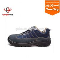 china brand S1funtion suede leather sporty safety shoes