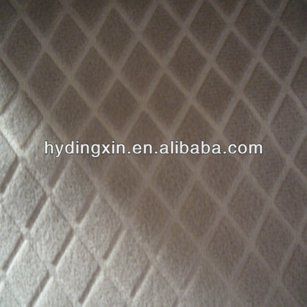 100% Polyester Embossed Blackout Fabric for Bus Seat Cover