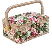 Wholesale from china knitting basket for easter promotion sewing items baskets