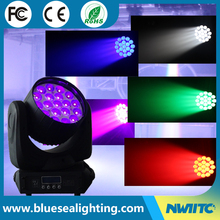 Hotsale 19pcs Martin Mac Aura Compact zoom LED wash Moving Head light