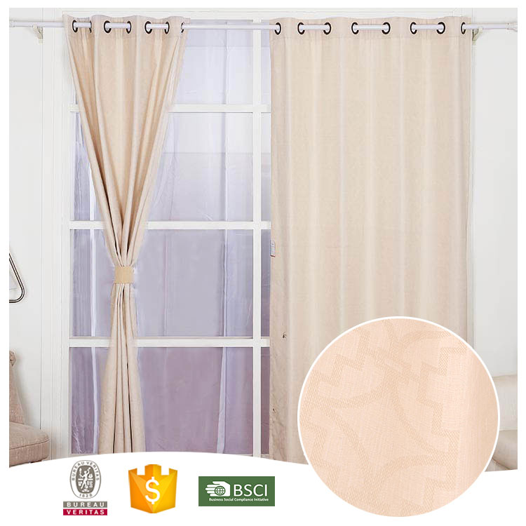 High Quality 10 Years Experience Beautiful lining blackout curtains