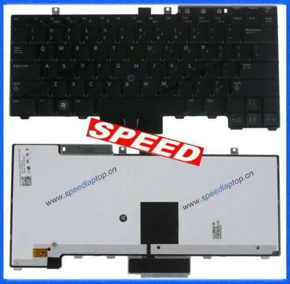 Replacement For Dell Latitude E5400 E5500 E6400 E6500 Backlit Keyboard Ht514