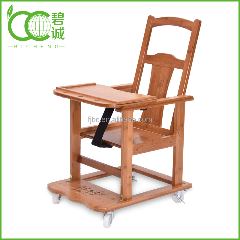 1-baby furniture/Wholesale Foldable Bamboo Baby Feeding High Chairs for Restaurant
