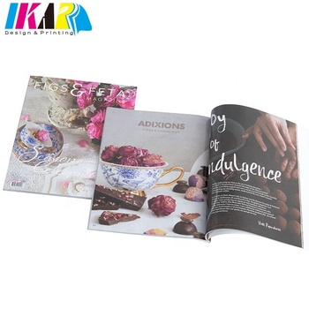 Full Color Glossy Magazine Printing Service
