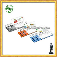 2013 good qulity custom design color size shape Lovely Promotional magnetic calendars