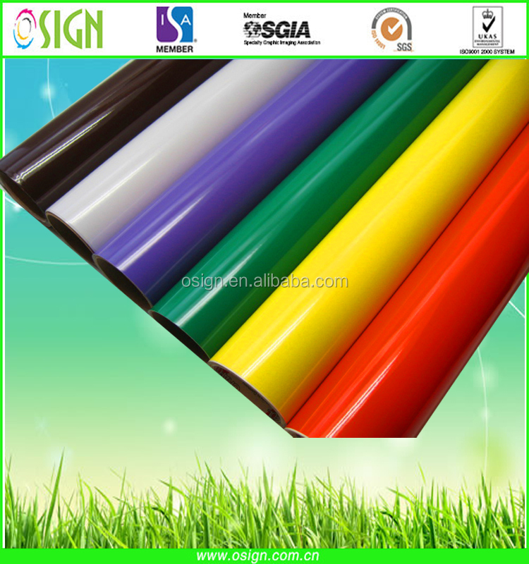 Best Quality & Prince for color vinyl/sign vinyl/color cutting vinyl/signmaking vinyl/color vinyl roll