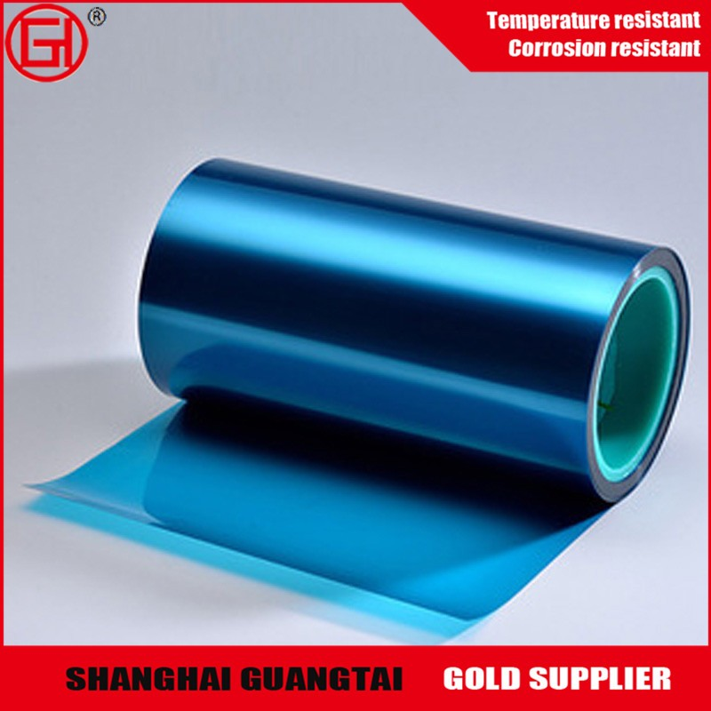 High quality silicone coated blue PET release film for inkjet suppliers