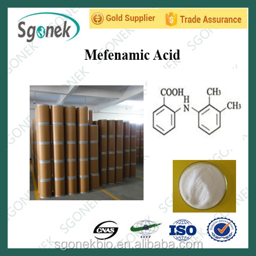 Wholesale 99% Mefenamic Acid, CAS:61-68-7,NSAIDS API
