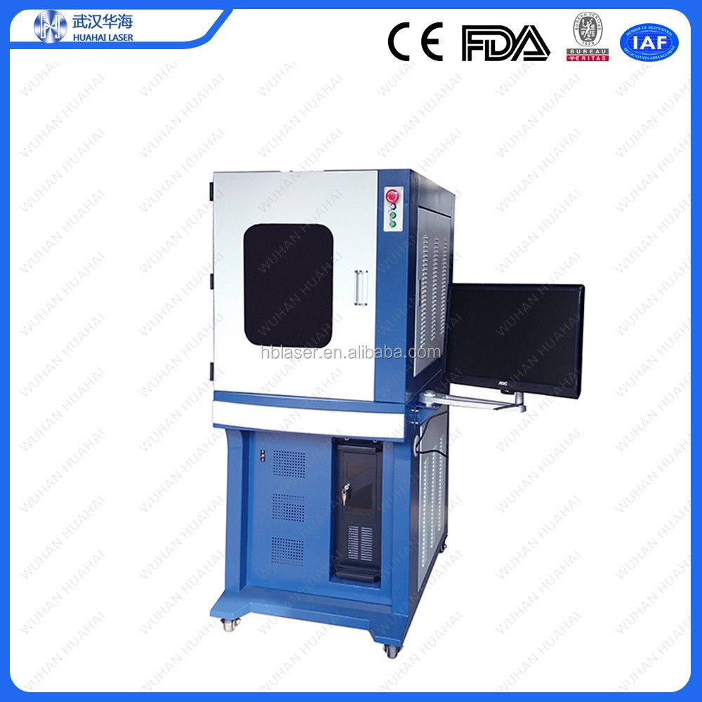 Huahai Laser 1w 3w 5w 355nm Uv Laser Marking Machine With
