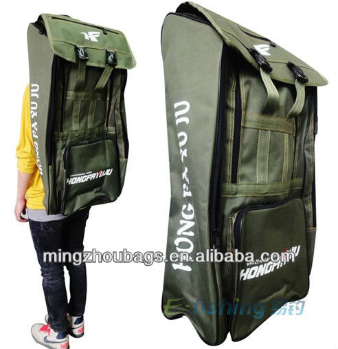 big capacity 600D backpack fishing rods