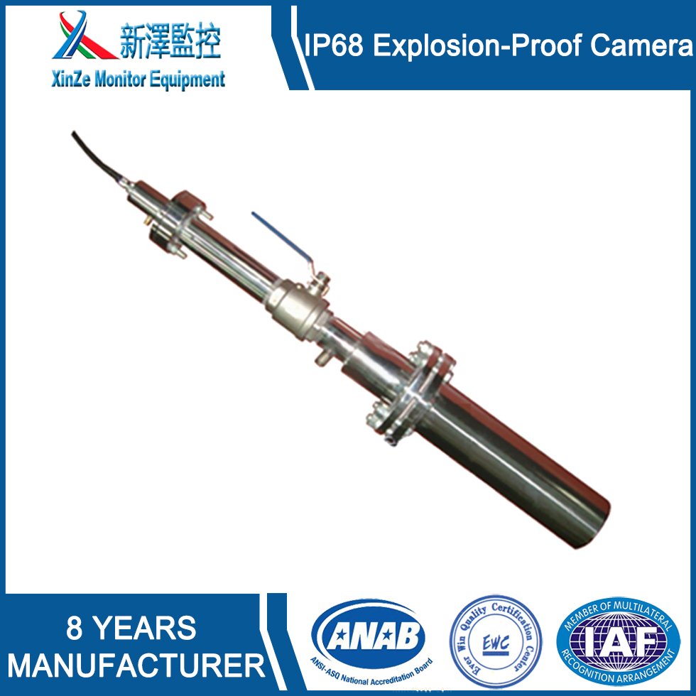 Heat Resistant Camera For Electric Furnace Steel Mills