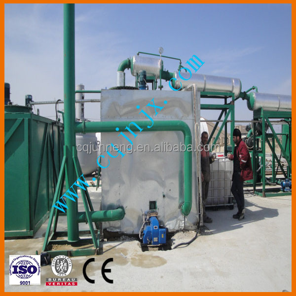 China ZSA used black engine/ car/ truck/motor oil treatment recycling plants/ machine/ refinery