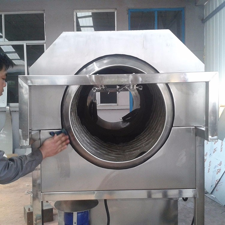 Low noise vacuum package food/pickles pasteurization tunnel
