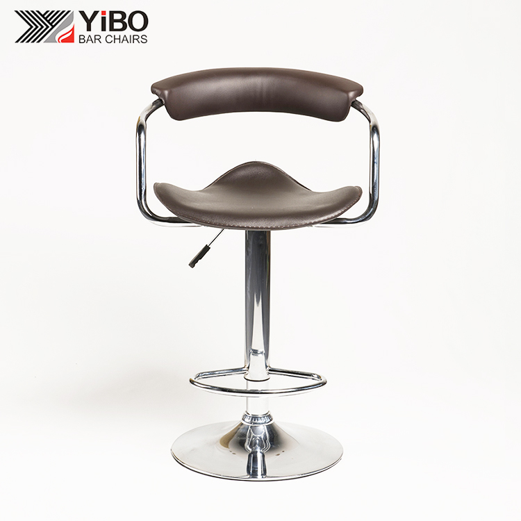 New Products Arm Leisure PVC Living Room Leather Bar Chair