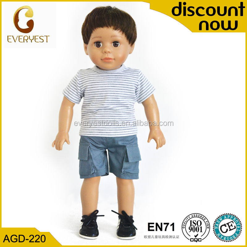 unique doll company sell 18 inch boy dolls,stuffed boy doll for kids,Education toy real doll for kids