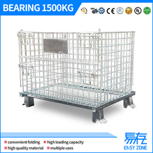 YCWM1707-1000 Warehouse wire roll container / storage cage / steel storage cages