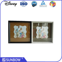 wholesale China manufacturing shadow box mdf wood matted photo Frames For gifts