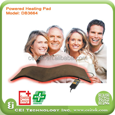 New type potable thermal far Infrared Temperature control Heating Pad