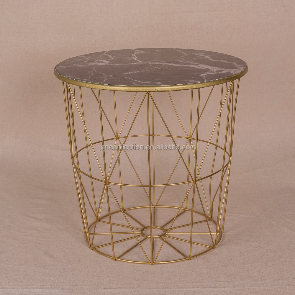 Wholesale best selling products custom metal wire mesh decorative storage basket for flowers
