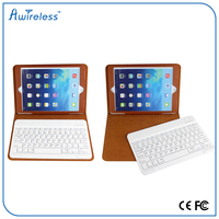 2015 hot sell Portable mini Wireless Bluetooth Keyboard case with detachable wireless keyboard for PC Pad Andriod TV