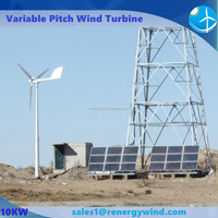 10kw electric wind project solar hybrid power system