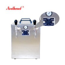 machine for small business electric beer dispenser with ice tube cooling