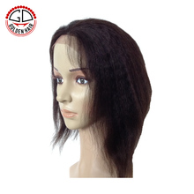 High Quality Unprocessed African American Short Full Lace Wigs For Black women
