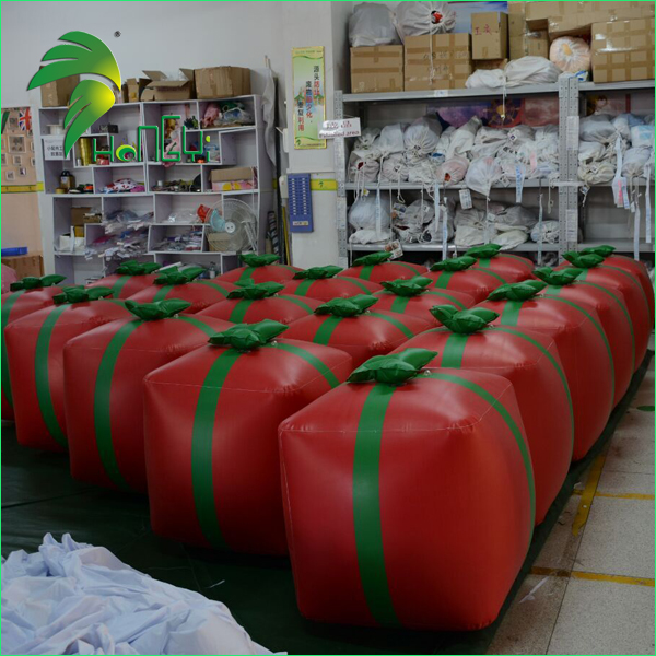 Hot Sale Inflatable Christmas Gift Box / Christmas Box Ball for Christmas Decoration