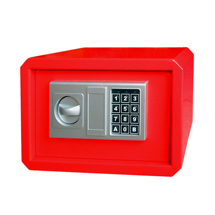 decorative metal corners for box with password lock