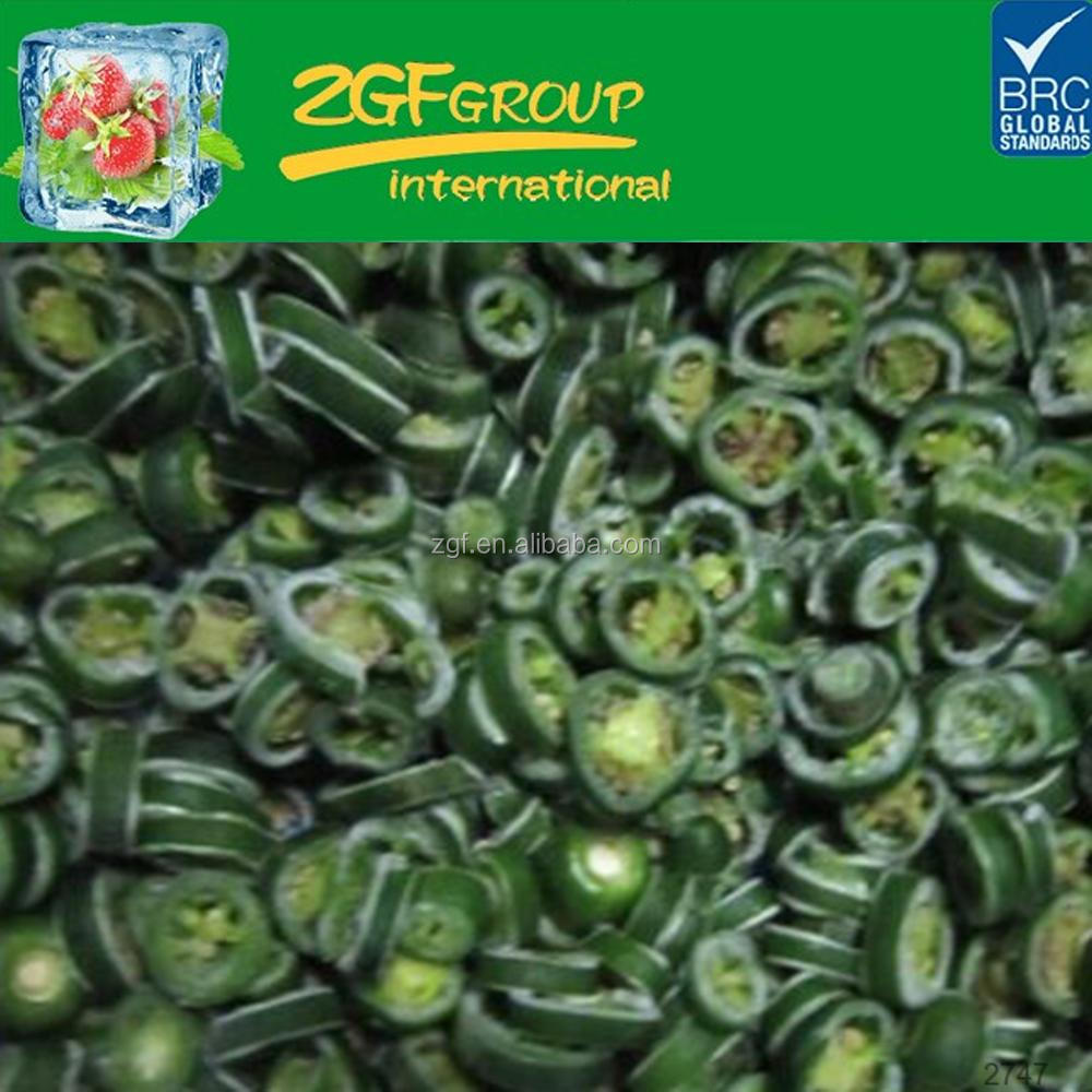 use fresh raw material made frozen jalapeno pepper for sale