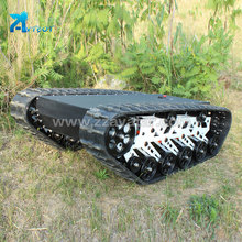 Reliable and Cheap robotic electric vehicle crawler chassis base