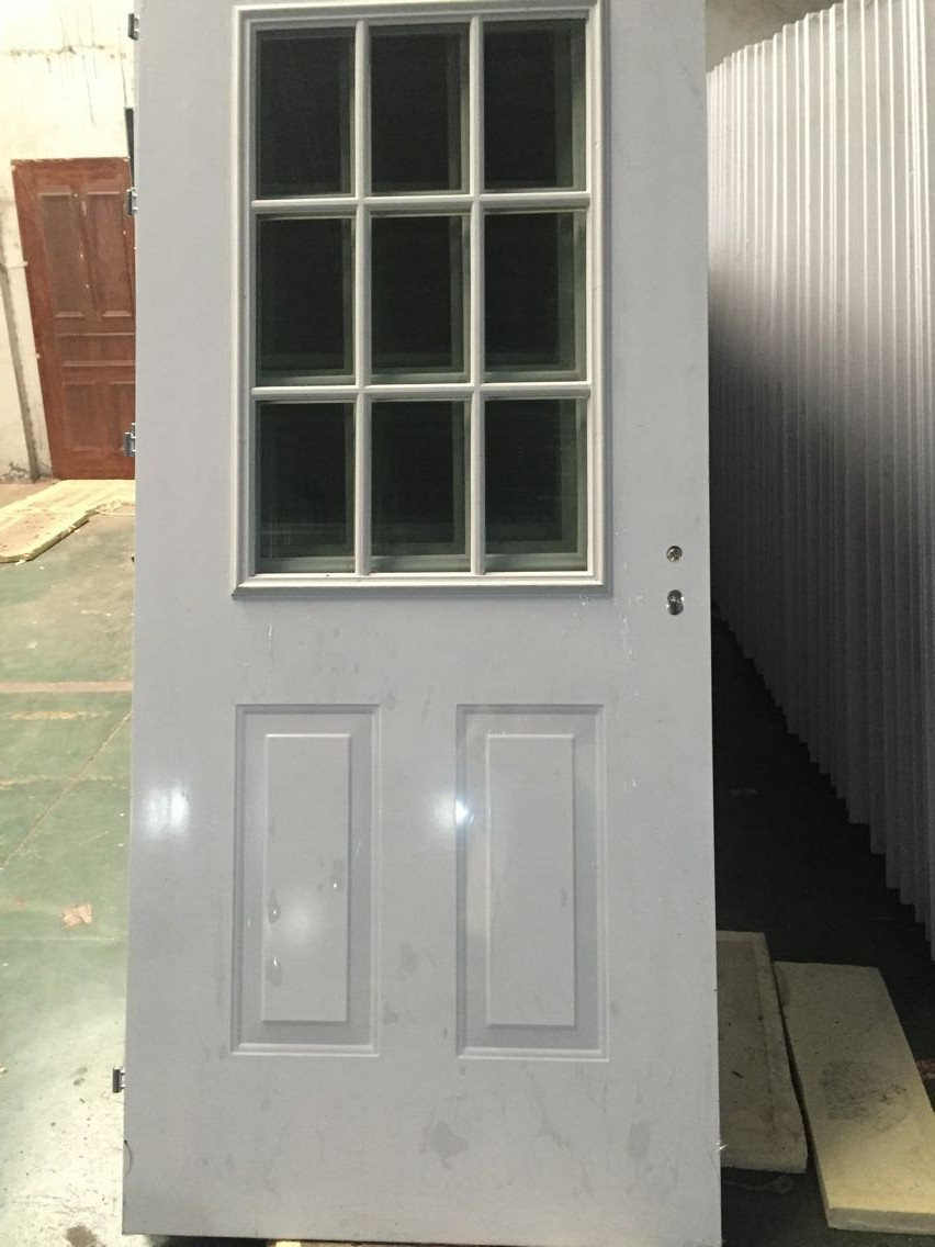 2015 new product steel or wpc framed french door with for European french doors