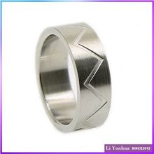 Cute Design Etching Beautiful Design Finger Rings