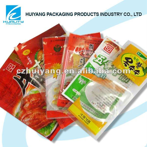 Nylon vacuum food bag for meat packaging design bag