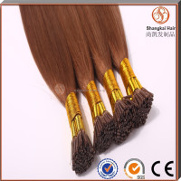 UK market high quality prebonded keratin i tip hair extension