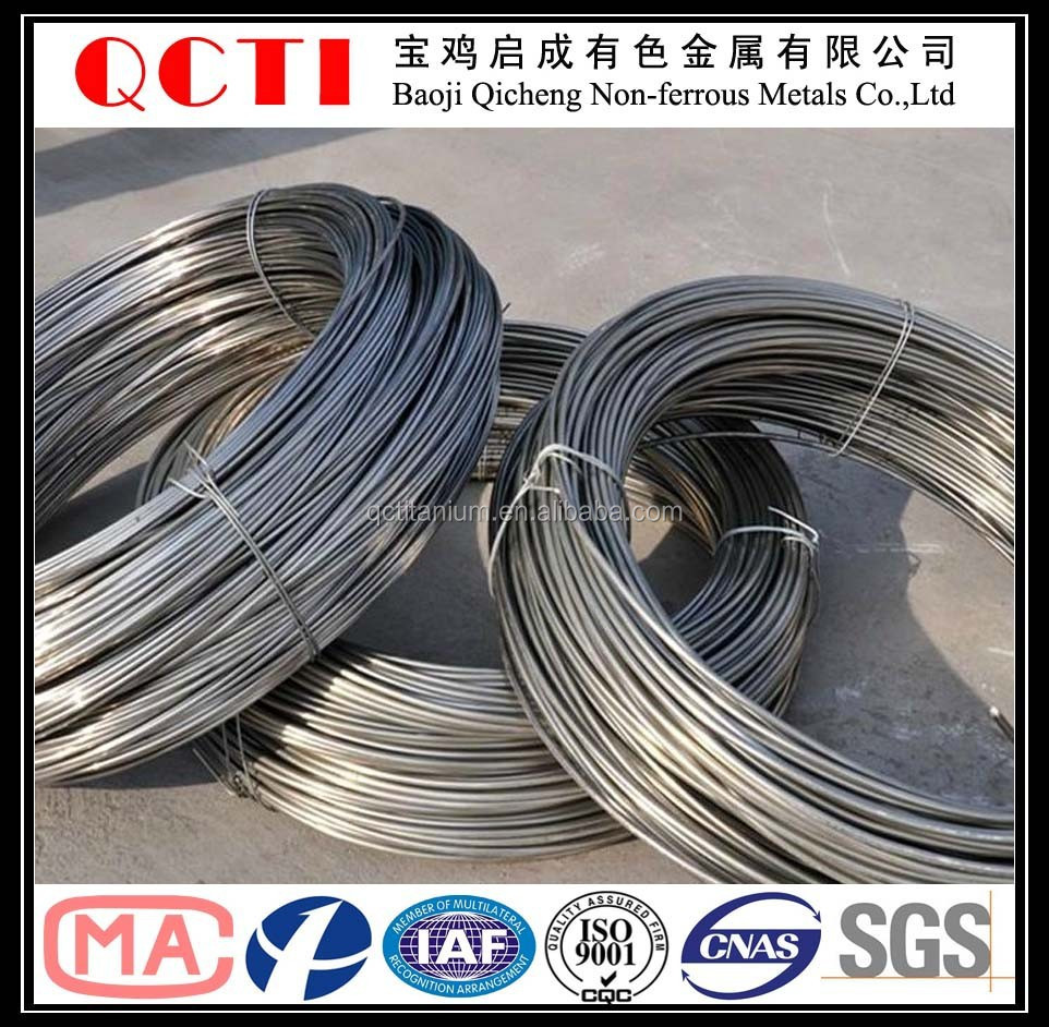 high strength titanium wire widely used aircraft engines