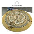 western popular for backsplash and floor designs waterjet beautiful round medallion tile