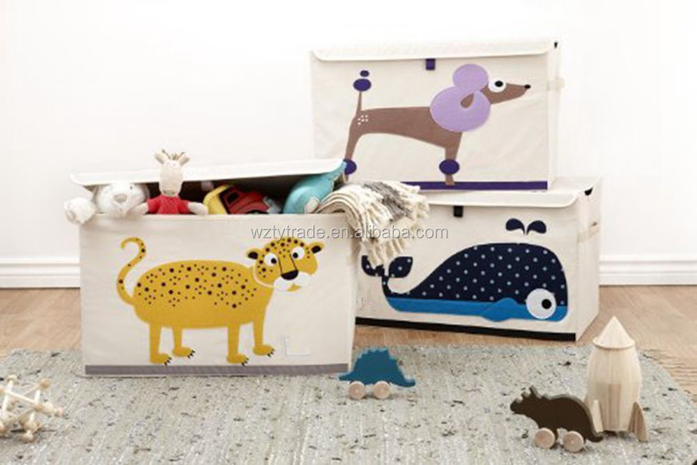 good quality decorative kids toy storage bins