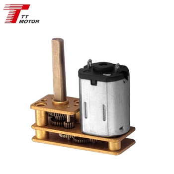 n20 5v dc gear motor used in home appliance