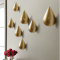 Unique Drip Shape Resin Decorative Wall Hook and Hangers for home