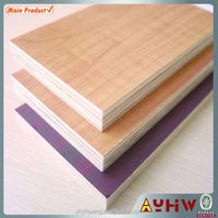 9mm double sides melamine paper texture mdf wood board