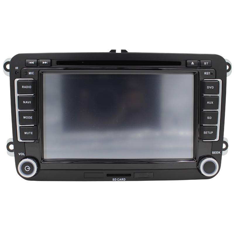 Car DVD GPS Navigation for Golf 6 CC/Scirocco/SKODA 2006-2012 support rear camera