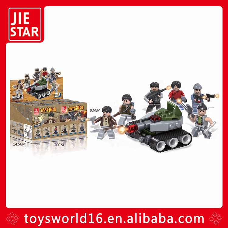 Boy toys War Heroes building blocks educational toys for kids