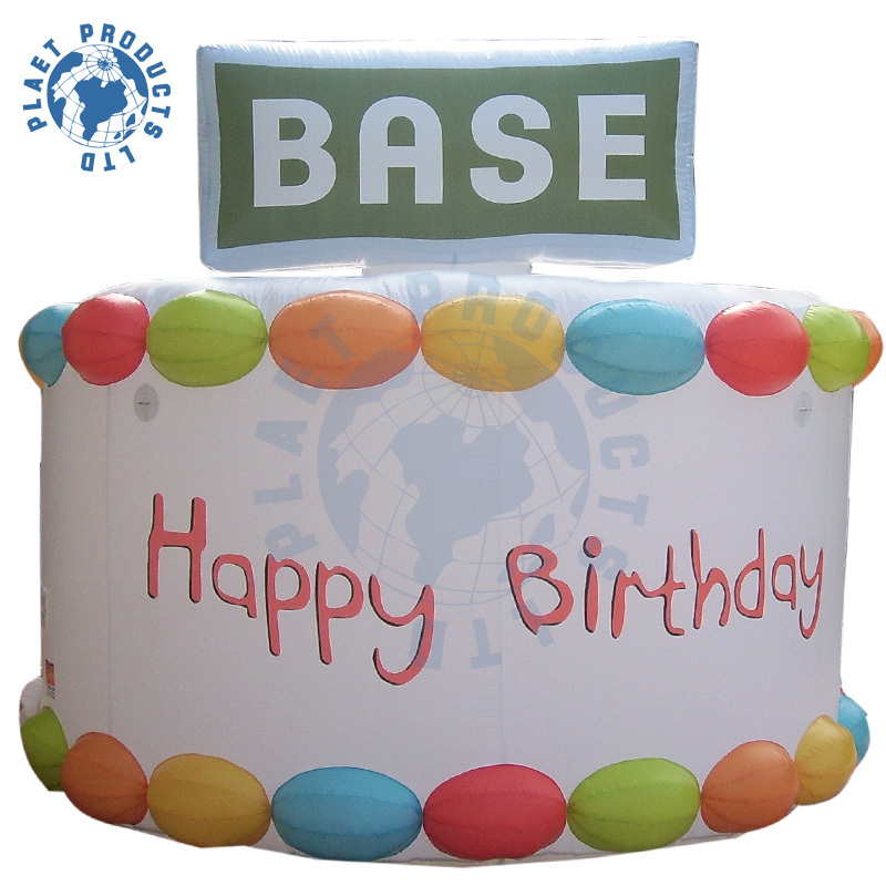 Inflatable Birthday Cake Model (PLAD32-034)
